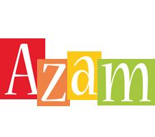 Azam colors logo