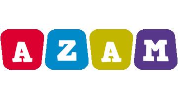 Azam kiddo logo