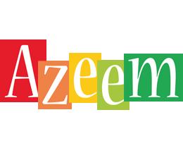 Azeem colors logo