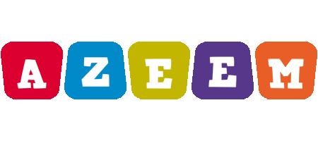 Azeem kiddo logo