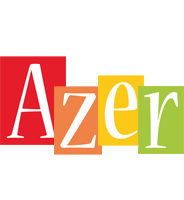 Azer colors logo
