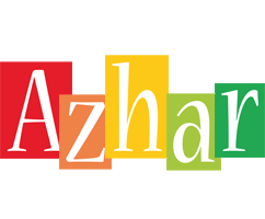 Azhar colors logo