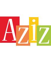 Aziz colors logo
