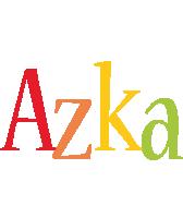 Azka birthday logo
