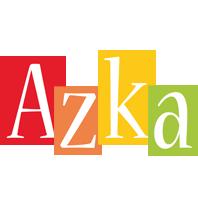 Azka colors logo