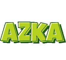 Azka summer logo
