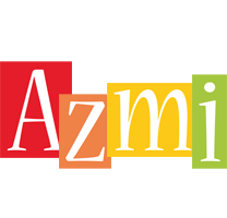 Azmi colors logo