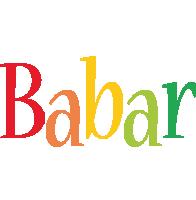 Babar birthday logo