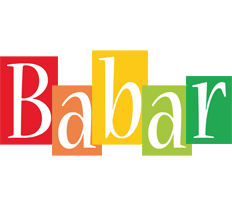 Babar colors logo