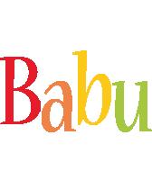 Babu birthday logo