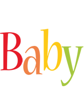 Baby birthday logo