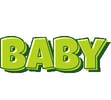 Baby summer logo