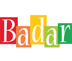 Badar colors logo