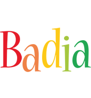 Badia birthday logo
