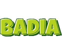 Badia summer logo