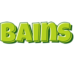 Bains summer logo