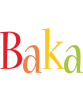 Baka birthday logo