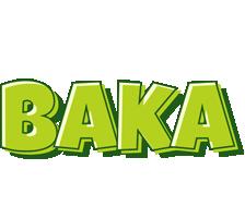 Baka summer logo