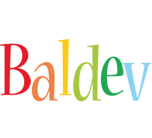 Baldev birthday logo