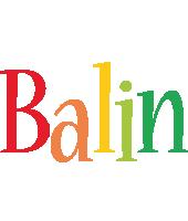 Balin birthday logo