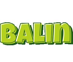 Balin summer logo