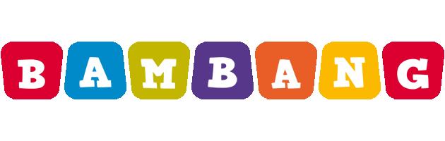 Bambang kiddo logo