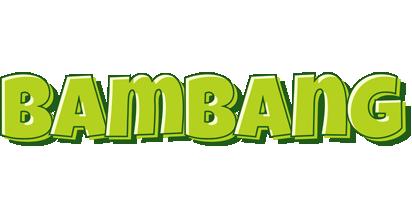Bambang summer logo