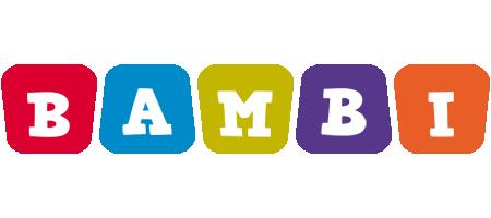 Bambi kiddo logo