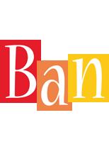 Ban colors logo