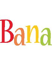 Bana birthday logo