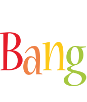 Bang birthday logo
