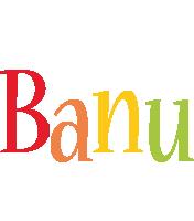 Banu birthday logo