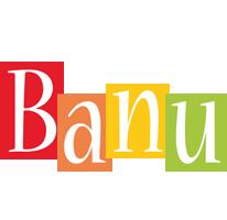 Banu colors logo