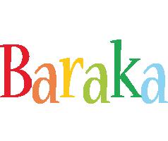 Baraka birthday logo