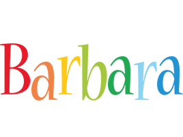 Barbara birthday logo