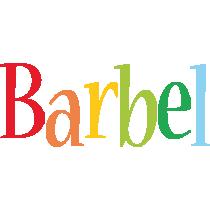 Barbel birthday logo