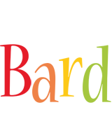 Bard birthday logo