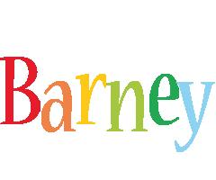 Barney birthday logo