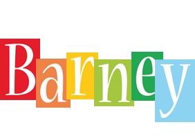 Barney colors logo