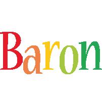 Baron birthday logo