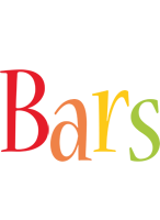 Bars birthday logo