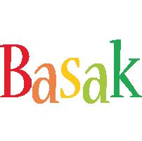 Basak birthday logo