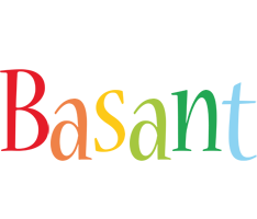Basant birthday logo
