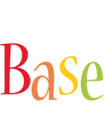 Base birthday logo