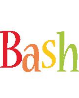 Bash birthday logo