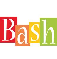 Bash colors logo
