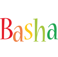 Basha birthday logo