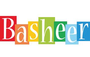 Basheer colors logo