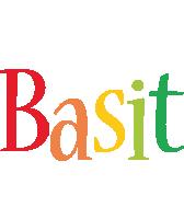 Basit birthday logo