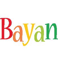 Bayan birthday logo